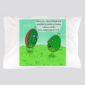 Two Watermelons Pillow Case