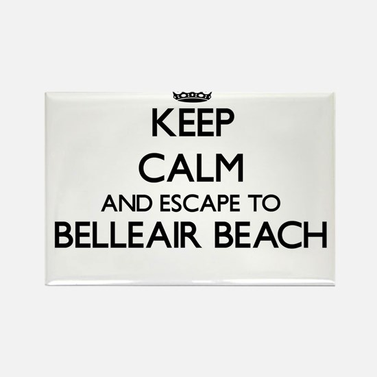 Keep calm and escape to Belleair Beach Flo Magnets