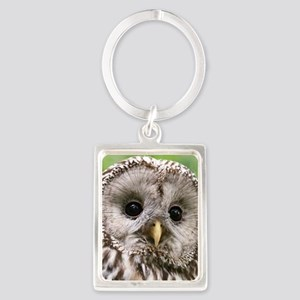 Owl See You Portrait Keychain