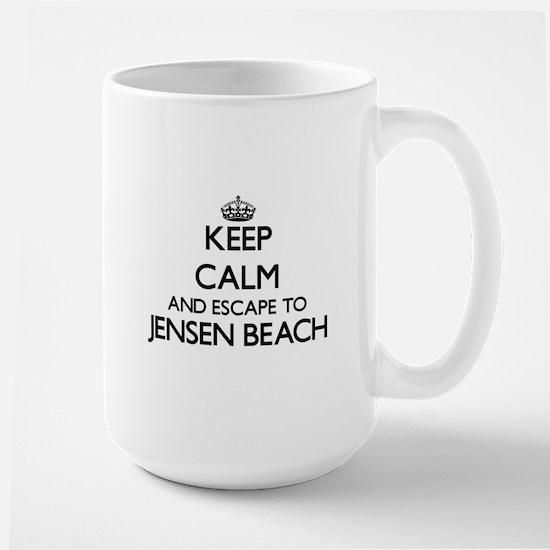 Keep calm and escape to Jensen Beach Florida Mugs
