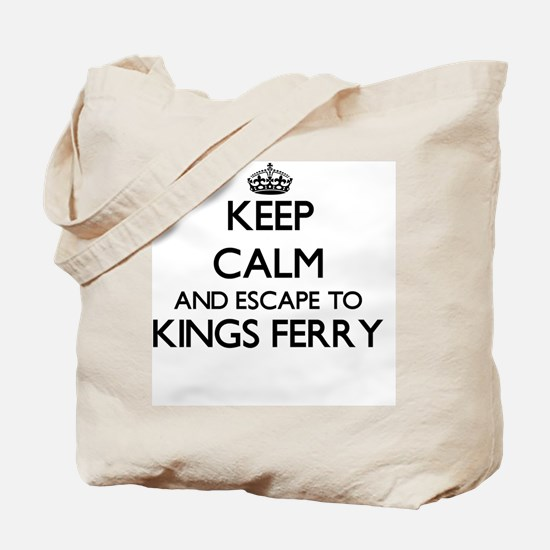 Keep calm and escape to Kings Ferry Georg Tote Bag