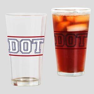 DOT Drinking Glass