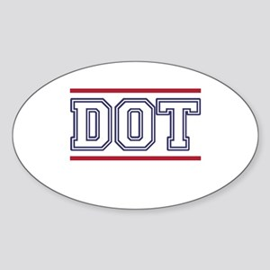 DOT Sticker (Oval)