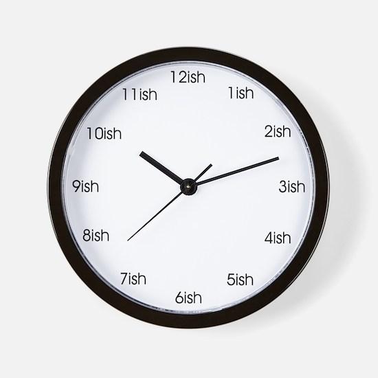 Ish Wall Clock