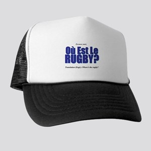 Où Est Le Rugby? World Cup 2007 Trucker Hat