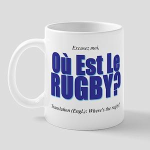 Où Est Le Rugby? World Cup 2007 Mug