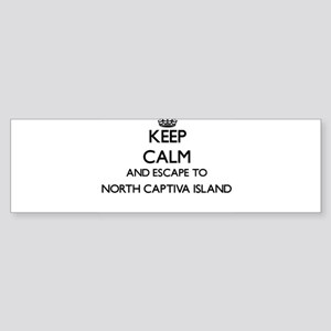 Keep calm and escape to North Capti Bumper Sticker