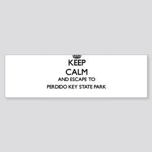 Keep calm and escape to Perdido Key Bumper Sticker