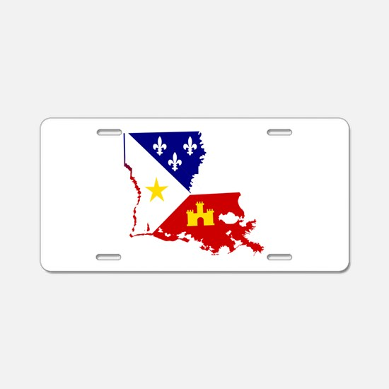 Acadiana State of Louisiana Aluminum License Plate