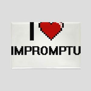 I Love Impromptu Magnets