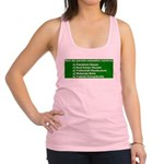 Uncle and Aunty Who Racerback Tank Top