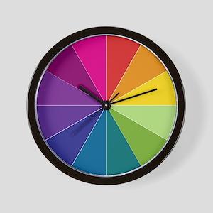 Spectrum Color Wall Clock