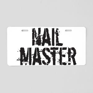 NailMaster Aluminum License Plate