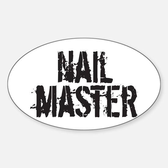 NailMaster Sticker (Oval)