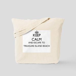 Keep calm and escape to Treasure Island B Tote Bag