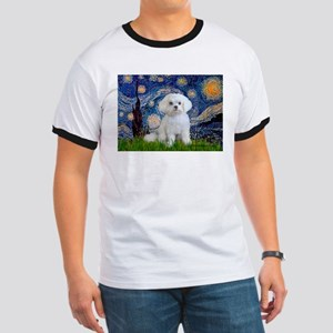 Starry Night / Maltese Ringer T