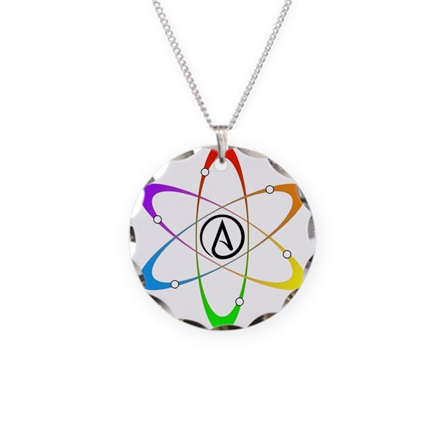 Atheist Atom Symbol Necklace By Admincp3306333