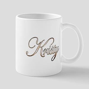 Gold Kristy Mug