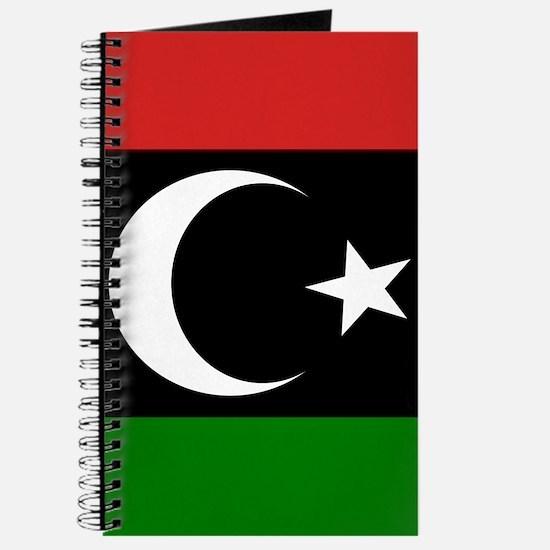 Square Libyan Flag Journal