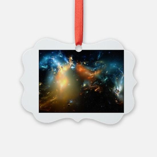 Cool Spiral galaxy Ornament