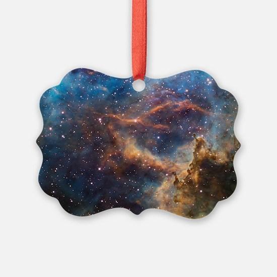 Unique Spiral galaxy Ornament