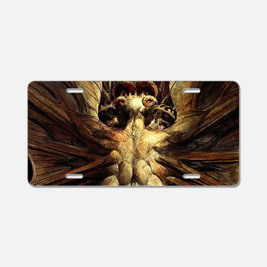 Great Red Dragon Aluminum License Plate