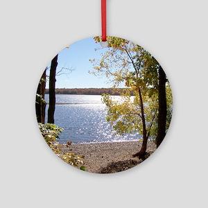 nature scenery Ornament (Round)