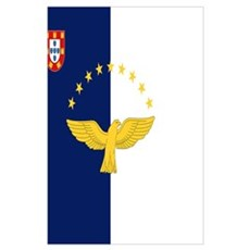 Flag of Azores Poster