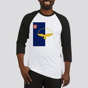 Flag of Azores Baseball Jersey