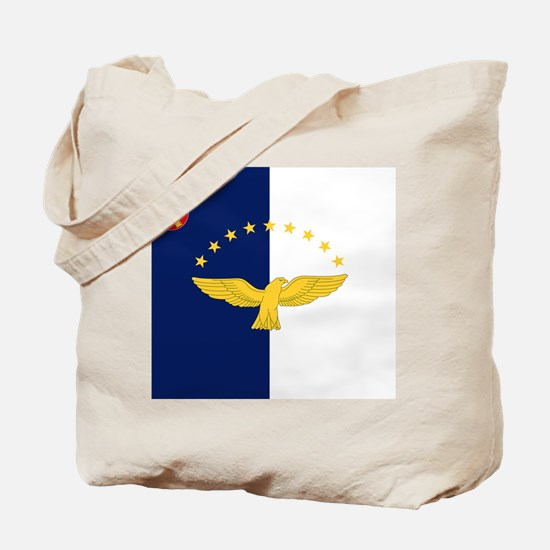 Flag of Azores Tote Bag
