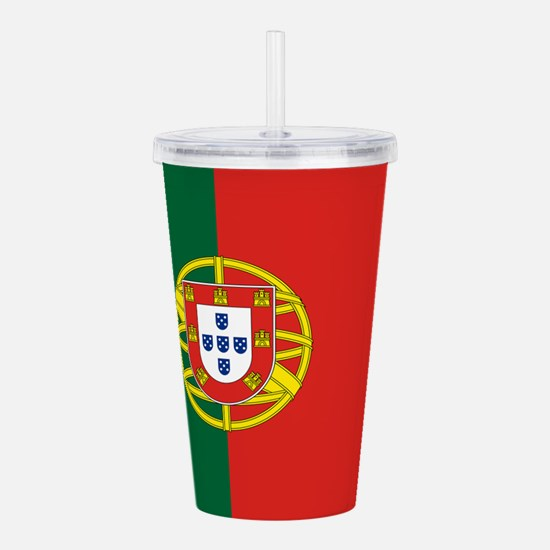 Portugal Acrylic Double-wall Tumbler