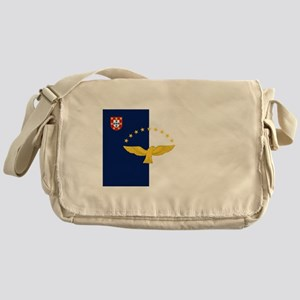 Flag of Azores Messenger Bag
