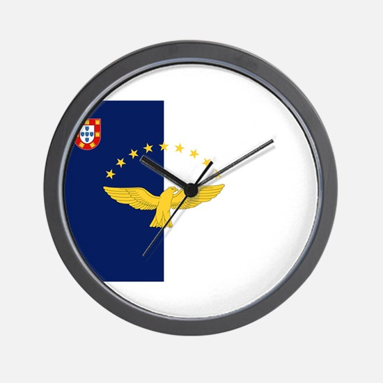 Flag of Azores Wall Clock