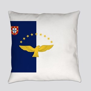 Flag of Azores Everyday Pillow