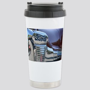 Antique Ford Stainless Steel Travel Mug