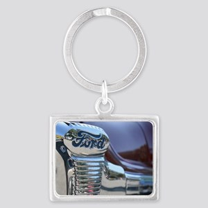 Antique Ford Landscape Keychain