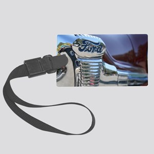 Antique Ford Large Luggage Tag
