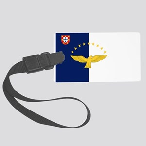 Flag of Azores Large Luggage Tag