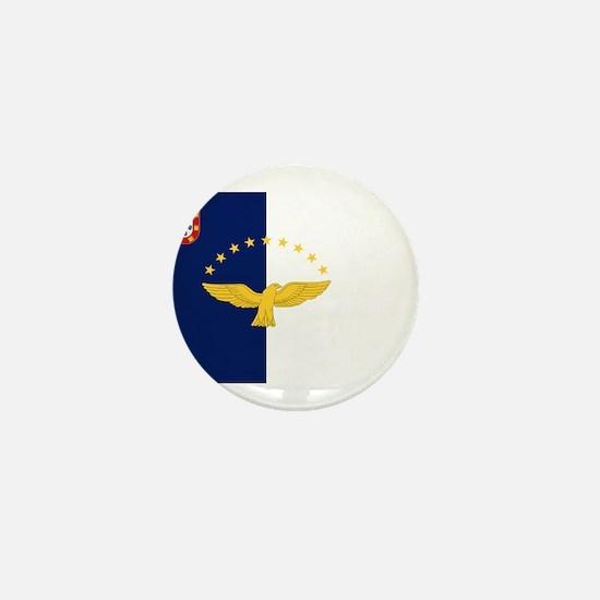 Flag of Azores Mini Button