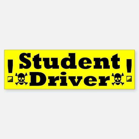 Unique Driving school Sticker (Bumper)