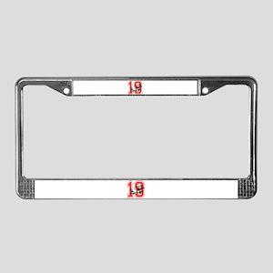 Vietnam Nineteen 19 License Plate Frame