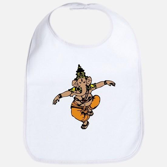 Dancing Ganesh Bib