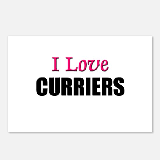 I Love CURRIERS Postcards (Package of 8)