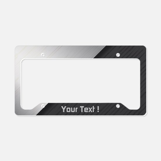 Custom Design License Plate Holder