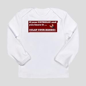 CATHOLIC Long Sleeve Infant T-Shirt