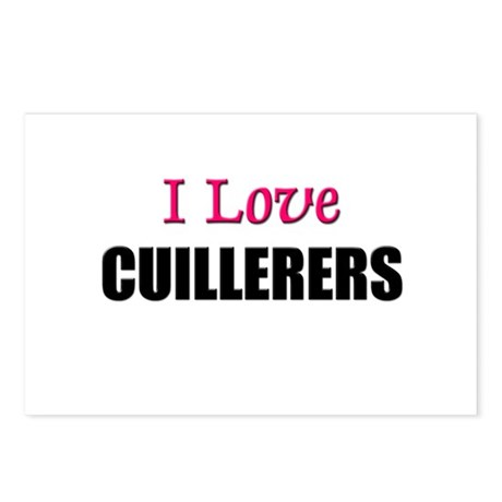 I Love CUILLERERS Postcards (Package of 8)