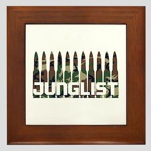Junglist Camo Bullets Framed Tile