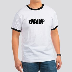 Maine ME Euro Oval Ringer T