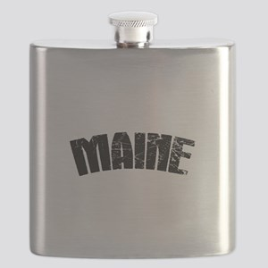 Maine ME Euro Oval Flask