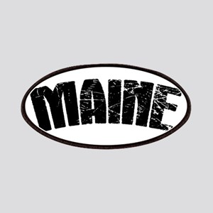 Maine ME Euro Oval Patch